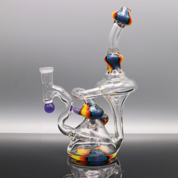 chappell-glass-blue-yellow-orange-recycler-4
