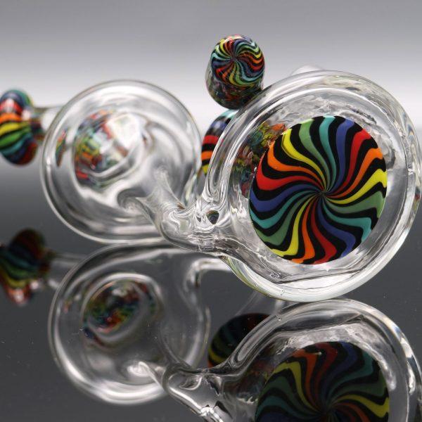 Chappell Glass Dark Rainbow Recycler