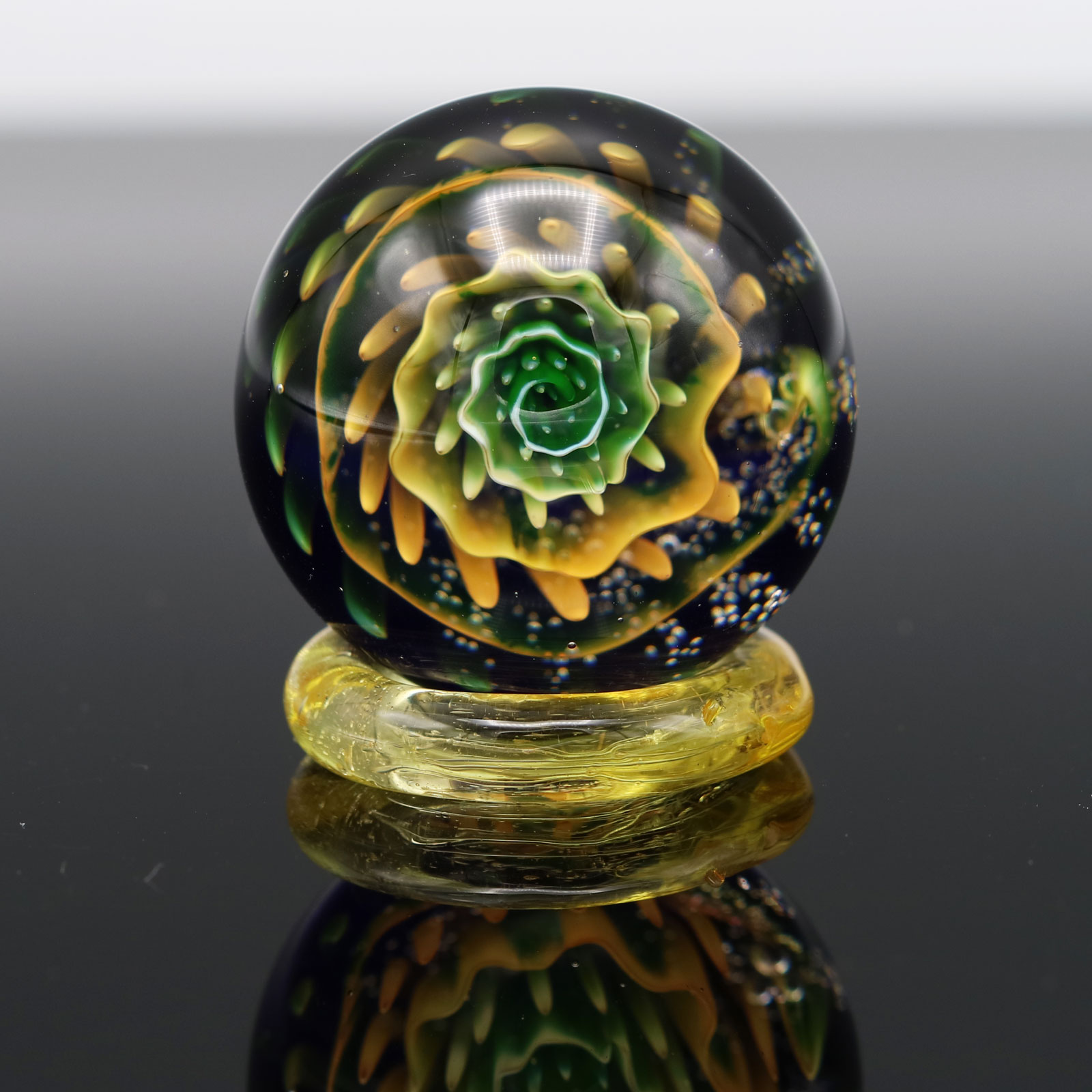 Garden of Eden Glass – Fumed UV Marble