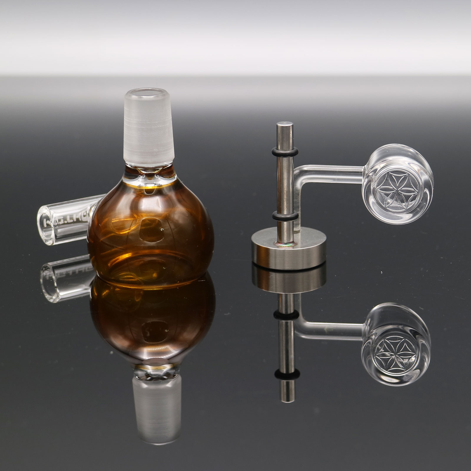 Mothership Glass – Shiny Brown Megapot