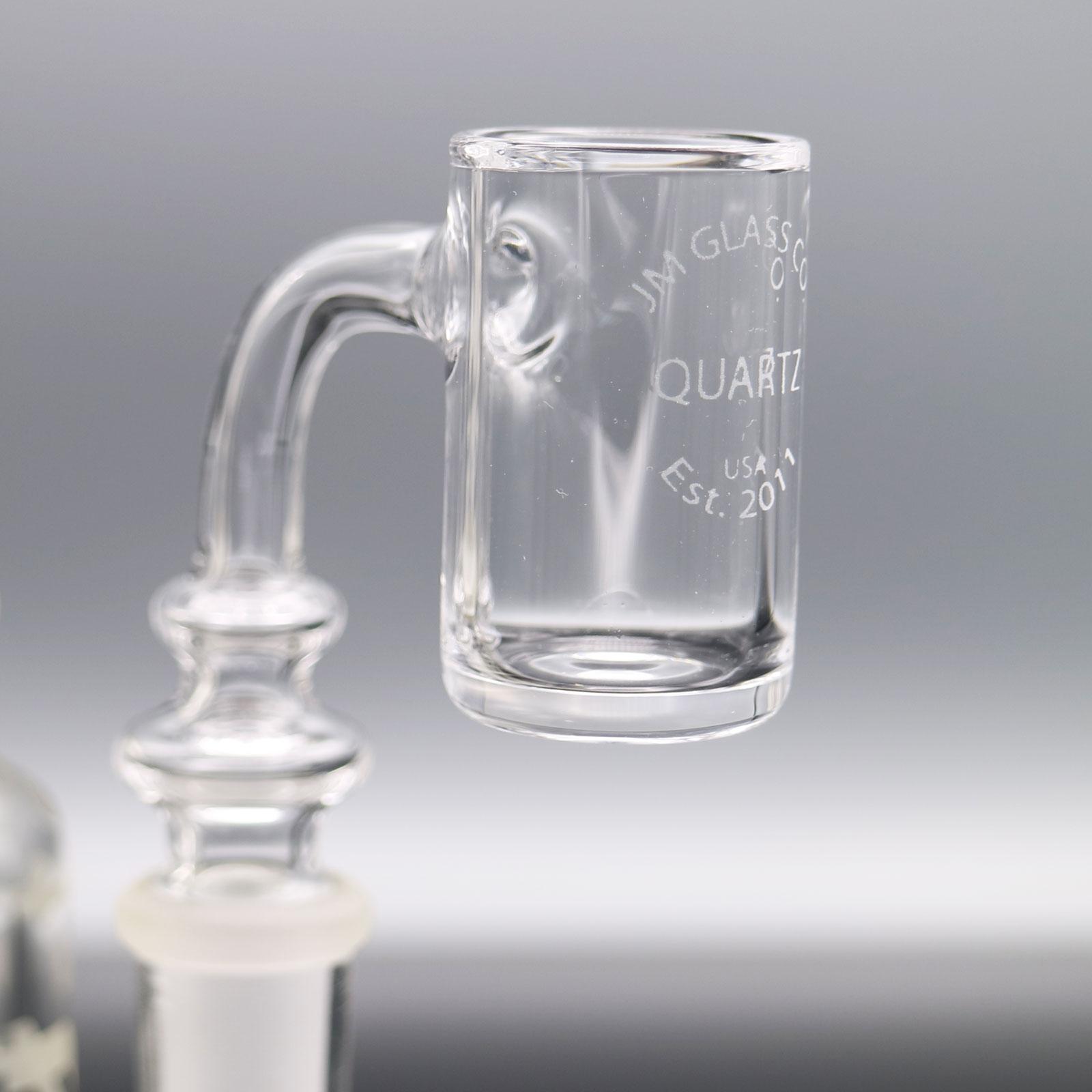 JM Glass CO – 14 mm Male Quartz Banger