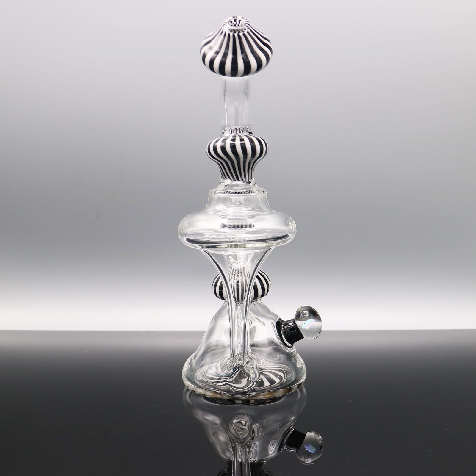 Chappell Glass – Black and White Recycler